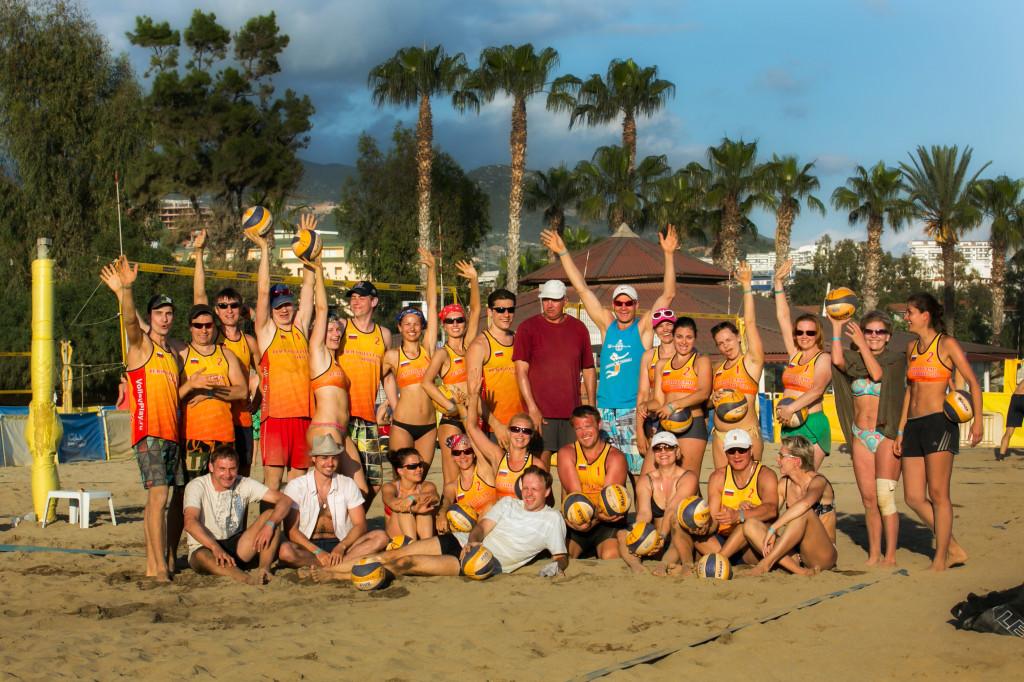 Лагерь пляжного волейбола в Турции