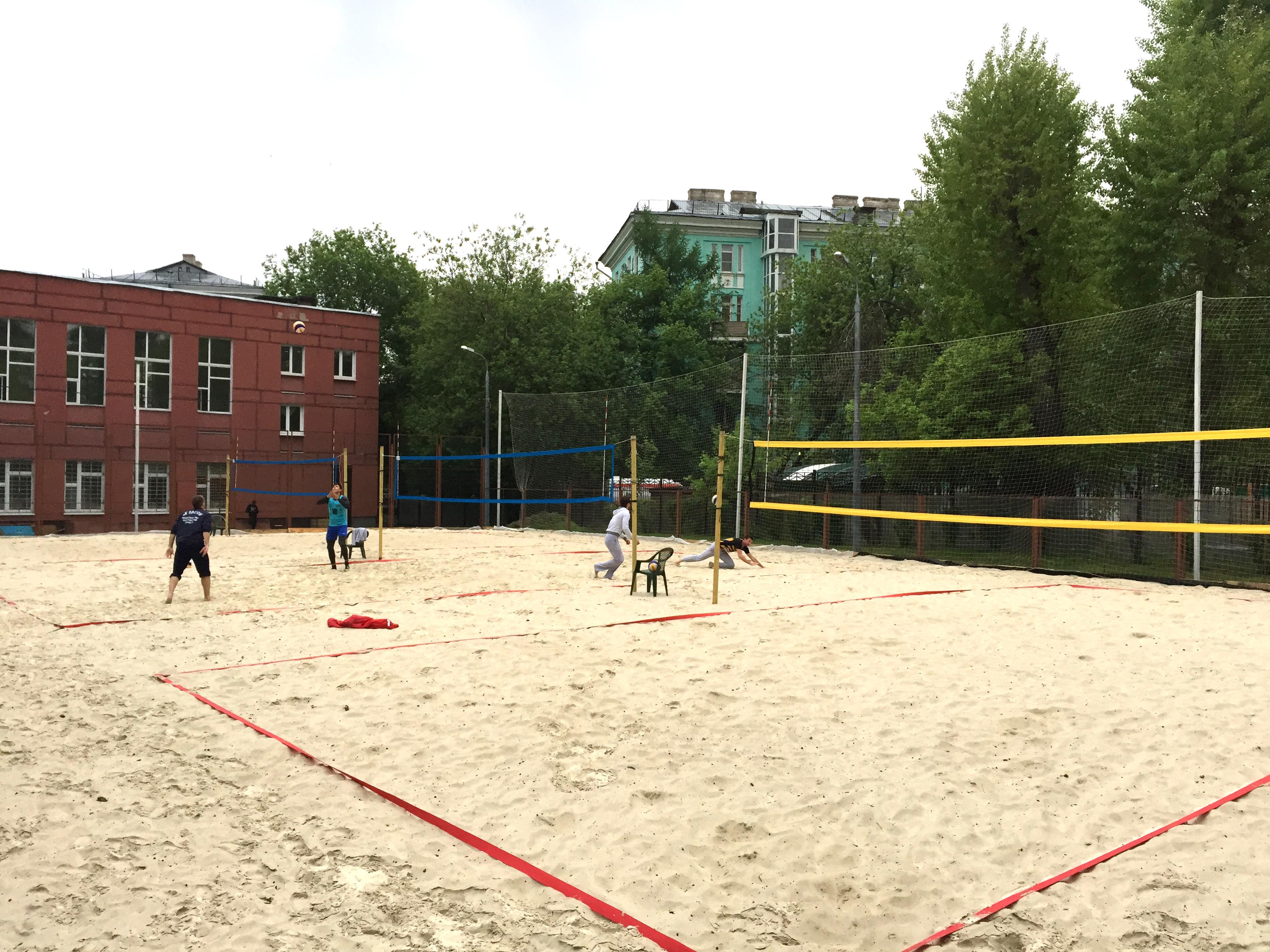 Пляжный волейбол!