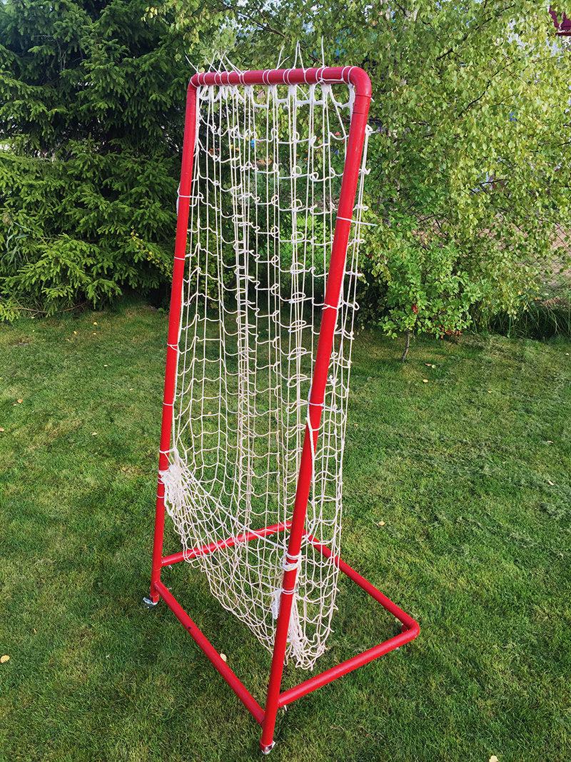 Ловушка для мячей в волейболе
