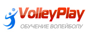 Секции по волейболу школы VolleyPlay Retina Logo