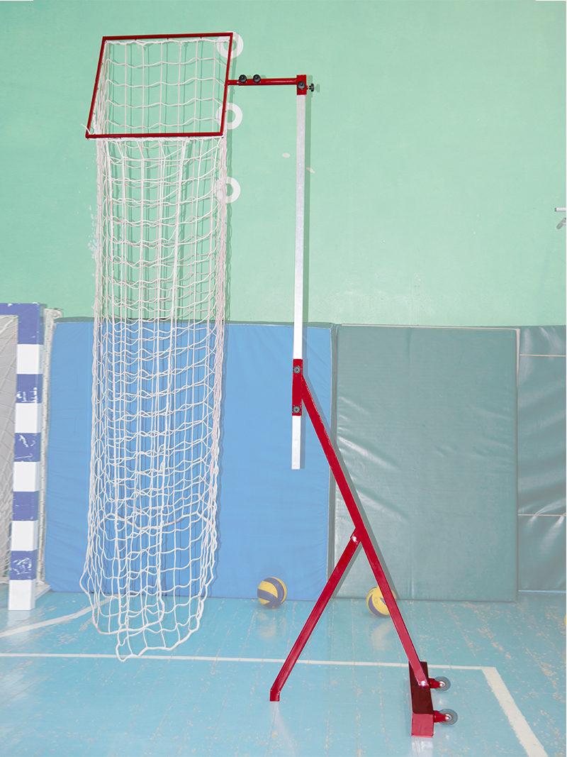 Тренажер для пасующего в волейбола для отработки паса