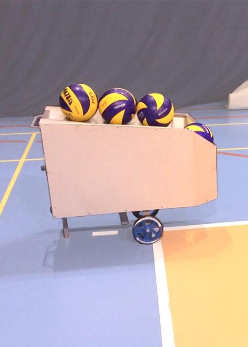 Тренажер для подачи мячей в волейболе