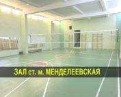 Волейбол менделеевская