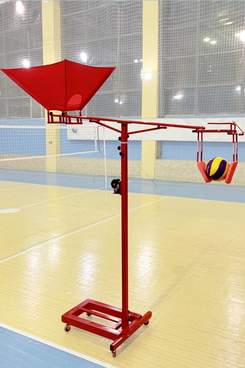 Транежер для отработки нападающего удара в волейболе