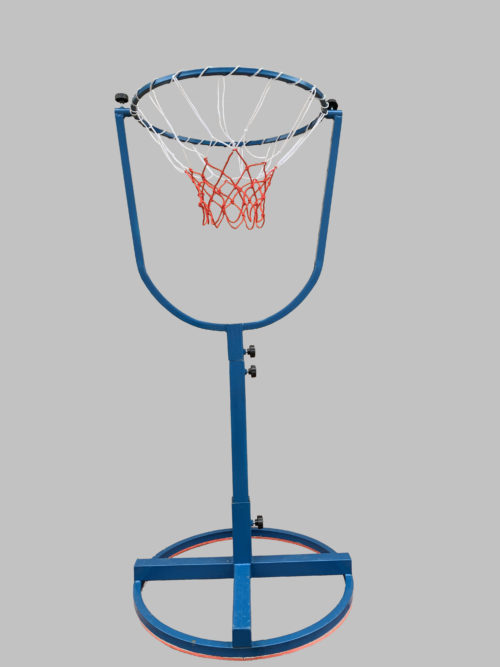 Мишень для мячей с регулируемым наклоном кольца